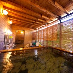 【極上の源泉かけ流し】の温泉でゆったり、のんびり。☆朝食付き☆駐車料金無料☆