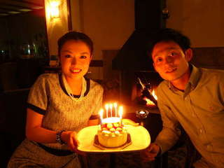 サプライズでお祝いも♪アニバーサリーケーキ付プラン!【カップル限定】【お誕生日プラン】