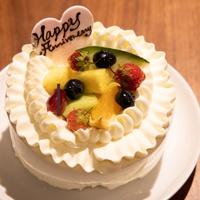 サプライズでお祝いも♪アニバーサリーケーキ付プラン!【お誕生日プラン】