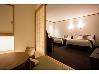 【本館】プレミアムルーム和洋室(45平米)