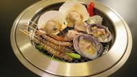 浜名湖パルパル遊園地の入園券付海鮮グリルと個々盛り会席料理宿泊プラン