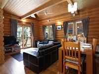 1泊プラン*エアコン、石風呂付き高級ログハウス貸し別荘*