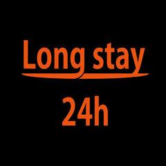 【ロングステイ】13時チェックイン〜翌13時チェックアウト!最大24時間滞在可能!