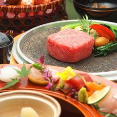 【2食付/ステーキ会席】 開業5周年記念 ☆ ステーキ会席ディナー50%OFFプラン