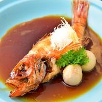 【のどぐろ】お一人に1匹!!高級魚のどぐろ煮付と海鮮炭火焼プラン