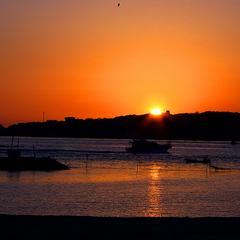 【カップル】●特典●旬のお料理一品付♪絶景!海に沈む夕日&日間賀グルメに感動