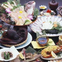 ◆タコ三昧◆丸茹で!タコしゃぶetc!日間賀名物を満喫