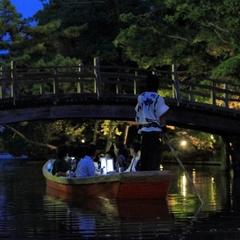 今年も期間限定開催!夏の風物詩♪【あかり舟乗船券付】うなぎのセイロ蒸しプラン