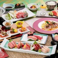 【まぐろ膳】なんと!「鮪5種類のお刺身を食べ比べ」できる鮪づくしコース!
