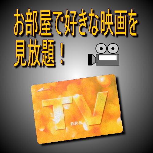 【TVカード付】退屈な夜に…お部屋で好きな映画を見て過ごそう♪