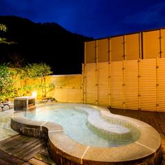 【カップルにもおすすめ】『貸切展望露天風呂』が1回無料♪空に抱かれ温泉を独り占め!