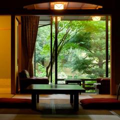 源泉客室風呂付き 離れ「環翠荘」特選プラン 自慢の「特選料理」を楽しむ♪