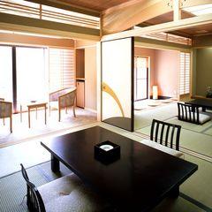 渓流沿い数寄屋造り和室16畳(1階/禁煙)