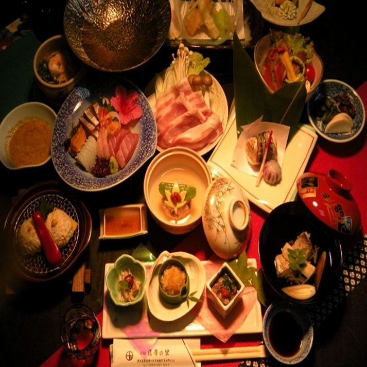 【楽天限定】カップル&女子会におすすめ♪季節に合わせた会席料理のフルコース♪