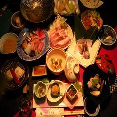 楽天限定【ポイント10倍】カップル&乙女会におすすめ♪季節にあわせた会席料理フルコース【新春フェア】