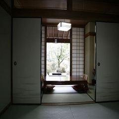 庭園眺望♪8畳+6畳♪1階和室♪