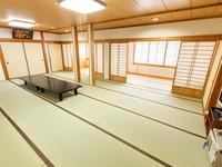 【和室18畳】18畳の大部屋に内縁を備えた大部屋
