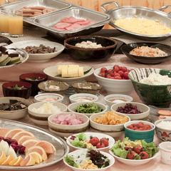 シンプルステイプラン♪(朝食付)☆朝食はバイキング形式