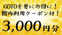 【館内利用クーポン3000円分付き】GOTOをお得に!素泊まりプラン