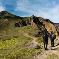 【山登り大応援】安達太良山・磐梯山の絶景を!宿のバックアップありで楽々トレッキング♪