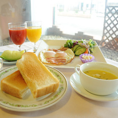 【朝食付】しっかり朝ごはん!和食と洋食の選べる朝食付き