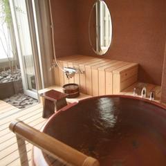 半露天風呂付和室&クラシックモダン和室のコネクティング