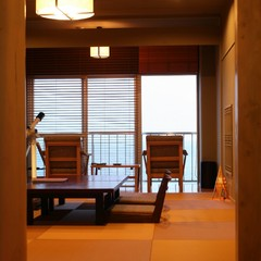 離れ感覚!!半露天風呂付 海のSuite 和室