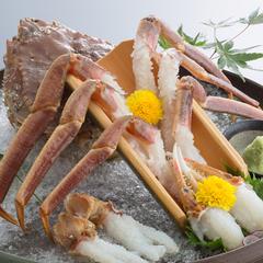 【蟹満腹コース+かに刺し】とことん蟹を堪能!蟹をフルコースで♪