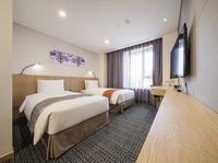 ★特典提供★3人宿泊できるファミリツインルームに3人朝食+ハッピアワーまで!