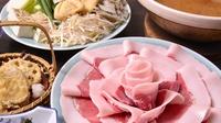【春夏旅セール】【ぼたん鍋♪】味の決め手は自家製味噌ダレ!