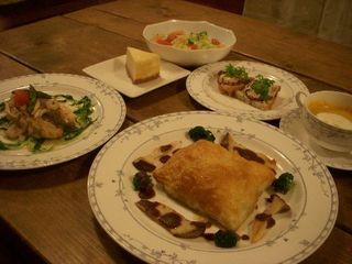 【オススメ!】創作家庭料理、石窯で焼いた出来立て天然工房パンを味わえる1泊2食付プラン♪♪