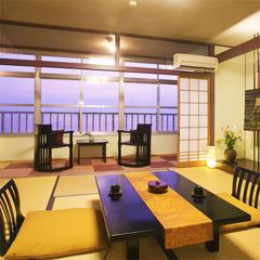 日本海の風景独占!【3階8畳和室】