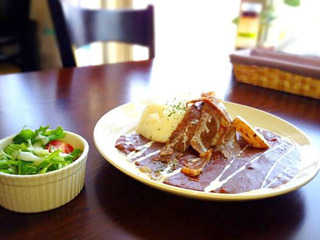ルームサービス付☆はこだて和牛のカレープラン(夕食付)