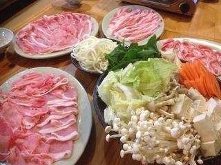 アグー豚のしゃぶしゃぶ鍋料理【夕食】【朝食】付きプラン♪
