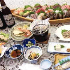 2食付【スタンダード】獲れたて新鮮☆海の幸をたっぷり味わう♪