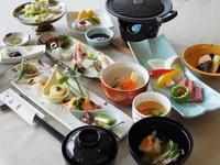 「季節の会席」をグレードUP!近江牛ステーキ付の「季節の特別会席」プラン