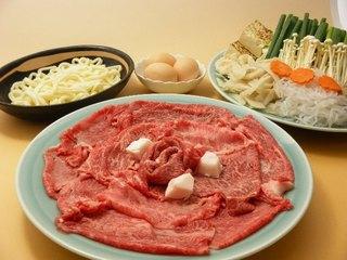 選べるご夕食プラン【近江牛すき焼き・近江牛しゃぶしゃぶ・近江牛付き会席】