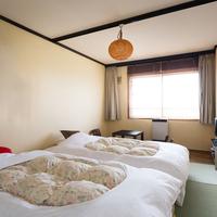 【禁煙】和風ツインルーム・ローベッド(和室)  広さ約8畳