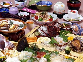 ★人気No.1祝い魚プラン☆旬の海の幸 伊勢海老、鮑付き〜舟盛海鮮プラン