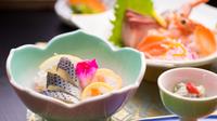 【月詠会席】リーズナブルに季節を味わう♪お手軽2食付プラン