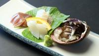 【夕食付/丹後とり貝コース】新感覚・動くとり貝料理余すことなく堪能