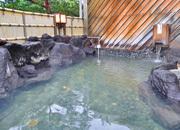 湯量豊富な源泉かけ流しの湯を贅沢に♪約20品の朝食バイキング付☆(朝食付)