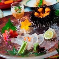 5月・6月限定 解禁「三陸産紫ウニ」×蔵元直送の日本酒を味わう