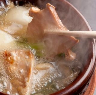 9・10月限定【鮑と森林鶏のスープ仕立を食す】×蔵元直送の日本酒を味わう