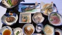 豪華なお食事を楽しみたい方へ♪地元食材満載のスペシャルコース★
