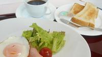 【1泊朝食】選べる和食or洋食のモーニングセット
