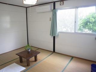 【現金特価】素泊6畳和室エアコン付