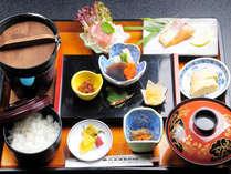 旅館で【朝食】★〜パン・コーヒー振替もOK!〜