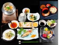 【添い寝無料】7月〜10月上旬限定「美〜ナスの変わり田楽&土柱麺」プラン♪
