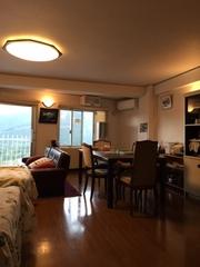須走富士山の眼前に見えるコンドミニアム<511室>